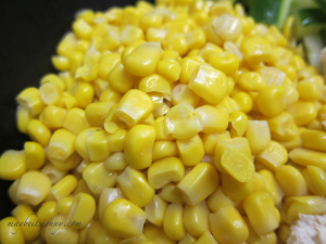 Corn - I used canned but you are more than welcome to use fresh!