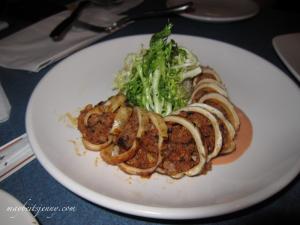 Pork Stuffed Calamari
