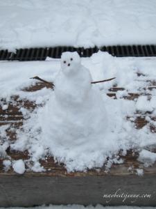 Snowman - Hawaiian Style!