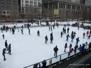 Ice Skating at the Park!