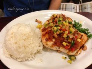 Sunrise Chicken (?) - the dish was okay, pricey